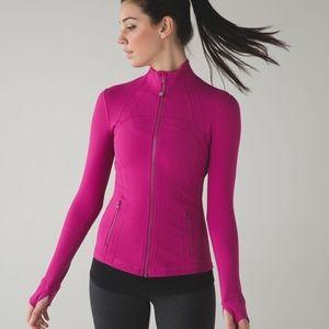 Lululemon Define Jacket - Raspberry Pink - Size 10